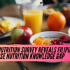 Herbalife Nutrition Latest Survey Reveals Filipinos Need to Close Nutrition Knowledge Gap