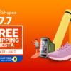 Shopee 7.7 Free Shipping Fiesta Sale Fitness Must-Haves