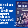 We Heal as One – The Online Concert with an Empowered Cause