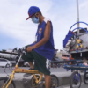 "YouTuber Bike Camper JBelo is our Inspiring ""Santa on a Bike"""