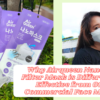 Why Airqueen Nanofiber Filter Mask Different and Effective from Other Commercial Face Masks?