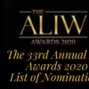 The 33rd Aliw Awards 2020 Awesome List of Nominations