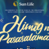 "Sun Life Concludes Incredible 125th Anniversary With ""Himig Ng Pasasalamat"" Featuring Ben&Ben And The Company"